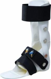 DAFO 2: Este DAFO articulado bloquea la flexión plantar pero permite la dorsiflexión. Esto permite un buen control del tobillo en pacientes con habilidades ambulatorias bien desarrolladas.
