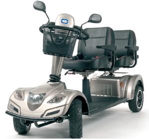 Scooter biplaza carpo limo de Vermeiren