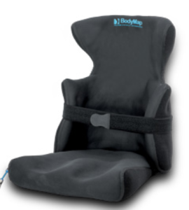 BIDYMAP AC. Combinación de asiento con reposacabezas y controles laterales de tronco. Posicionamiento y estabilidad pevis, piernas, tronco y cabeza. Alineación, acomodación de deformidades y confort.
