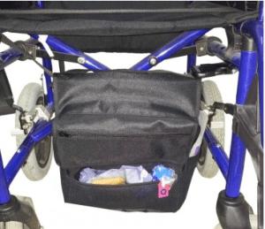 Bolsa colocada bajo el asiento