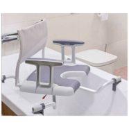 Asientos giratorios para la bañera. Ortopedia Plantia de Donostia