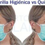Mascarillas Higiénicas vs Mascarillas Quirúrgicas