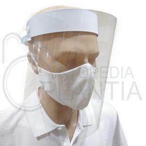 Pantalla - Protector facial abatible de plástico