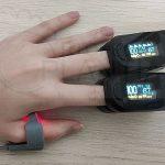 En qué dedo mide mejor la SatO2 un Pulsioxímetro?